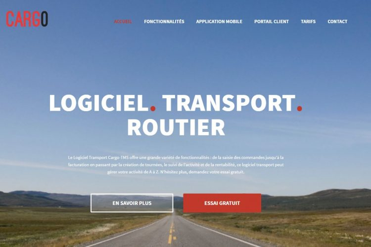 Nouveau site cargo-tms